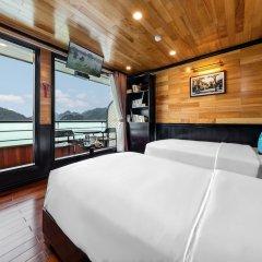Отель Halong Serenity Cruise Вьетнам, Халонг - отзывы, цены и фото номеров - забронировать отель Halong Serenity Cruise онлайн комната для гостей фото 5