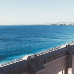 Отель Hyatt Regency Nice Palais de la Méditerranée пляж фото 2