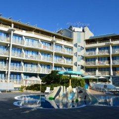 Aquamarine Hotel пляж фото 2