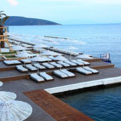 Отель Bodrum Bay Resort - All Inclusive пляж