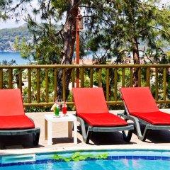 Symbola Oludeniz Beach Hotel Турция, Олудениз - 1 отзыв об отеле, цены и фото номеров - забронировать отель Symbola Oludeniz Beach Hotel онлайн бассейн фото 2