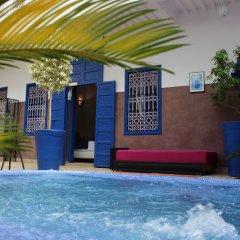 Отель Riad Dar Sheba Марокко, Марракеш - отзывы, цены и фото номеров - забронировать отель Riad Dar Sheba онлайн бассейн фото 3