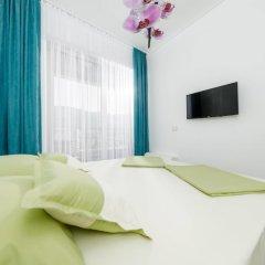 Отель Luxury Harmonia Apartments Черногория, Будва - отзывы, цены и фото номеров - забронировать отель Luxury Harmonia Apartments онлайн комната для гостей фото 5