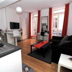 Отель Appartement Capitole Франция, Тулуза - отзывы, цены и фото номеров - забронировать отель Appartement Capitole онлайн комната для гостей фото 3