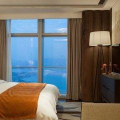 Отель Lagom Bright House Sea View Apartment Китай, Сямынь - отзывы, цены и фото номеров - забронировать отель Lagom Bright House Sea View Apartment онлайн комната для гостей фото 2