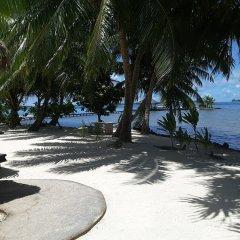 Отель Fare Pea Iti пляж