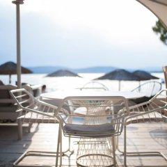 Отель Ekies All Senses Resort Греция, Ситония - отзывы, цены и фото номеров - забронировать отель Ekies All Senses Resort онлайн пляж фото 2