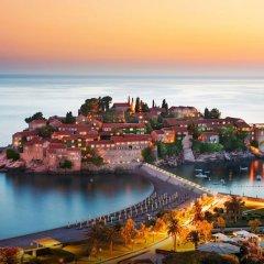 Отель Villa Gracia Черногория, Будва - отзывы, цены и фото номеров - забронировать отель Villa Gracia онлайн пляж фото 2