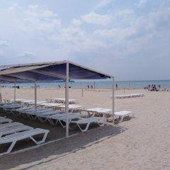 Гостиница Солнечный берег (Анапа) пляж