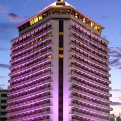 Dusit Thani Bangkok Hotel вид на фасад фото 2
