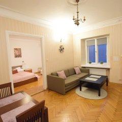 Апартаменты Elegant Apartment Universitas Варшава комната для гостей