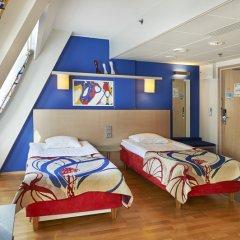 Отель Scandic Hakaniemi 3* Стандартный номер с 2 отдельными кроватями фото 12