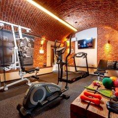 Отель Amber фитнесс-зал фото 4