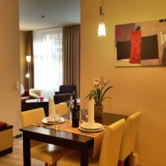 Отель Apartmenthotel Quartier M в номере