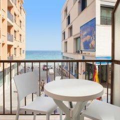 Отель Estudios RH Sol Испания, Пляж Леванте - отзывы, цены и фото номеров - забронировать отель Estudios RH Sol онлайн балкон