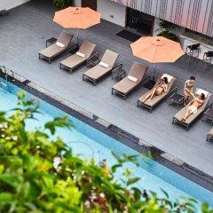 Отель Mandarin Orchard Singapore бассейн фото 3