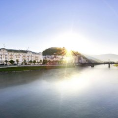 Отель Sacher Salzburg Зальцбург приотельная территория