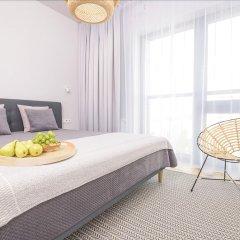 Отель Novis Apartments Panorama View Польша, Варшава - отзывы, цены и фото номеров - забронировать отель Novis Apartments Panorama View онлайн комната для гостей фото 3