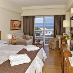 Отель Neptune Hotels Resort and Spa Греция, Калимнос - отзывы, цены и фото номеров - забронировать отель Neptune Hotels Resort and Spa онлайн комната для гостей фото 3