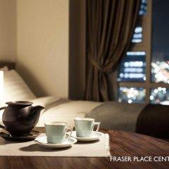 Отель Fraser Place Central Seoul Южная Корея, Сеул - отзывы, цены и фото номеров - забронировать отель Fraser Place Central Seoul онлайн комната для гостей фото 2