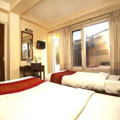 Отель OYO 144 Hotel Zhonghau Непал, Катманду - отзывы, цены и фото номеров - забронировать отель OYO 144 Hotel Zhonghau онлайн комната для гостей фото 4
