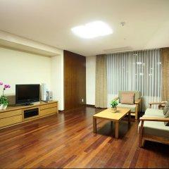 Отель Vabien Suites II Serviced Residence Сеул комната для гостей фото 2