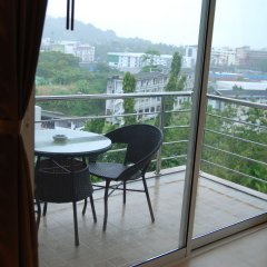 Отель I Am Residence балкон