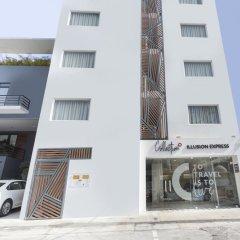 Отель Xcala Illusion Express Мексика, Плая-дель-Кармен - отзывы, цены и фото номеров - забронировать отель Xcala Illusion Express онлайн вид на фасад
