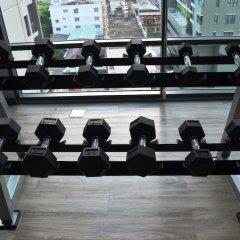 Отель Wooden Suites (the Rich @sathorn-taksin) Бангкок фитнесс-зал фото 3