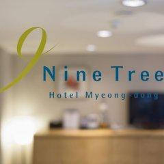Отель Nine Tree Hotel Myeong-dong Южная Корея, Сеул - отзывы, цены и фото номеров - забронировать отель Nine Tree Hotel Myeong-dong онлайн фитнесс-зал фото 2