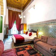 Отель 2 BR Charming Apartment Fes Марокко, Фес - отзывы, цены и фото номеров - забронировать отель 2 BR Charming Apartment Fes онлайн комната для гостей фото 4