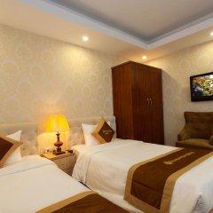 Отель Hanoi Diamond King Ханой комната для гостей фото 5