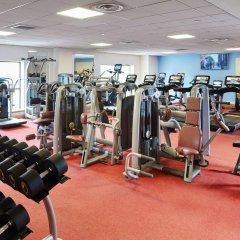 Glasgow Marriott Hotel фитнесс-зал