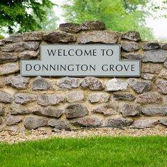 Отель Donnington Grove and Country Club фото 17