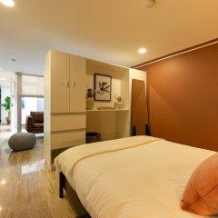 Апартаменты Delightful Studio in Hipodromo Мехико комната для гостей