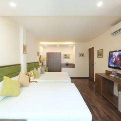 Отель Mr Sun Hotel - Travel Вьетнам, Ханой - отзывы, цены и фото номеров - забронировать отель Mr Sun Hotel - Travel онлайн комната для гостей фото 3