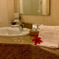 Отель Terme Firenze Италия, Абано-Терме - отзывы, цены и фото номеров - забронировать отель Terme Firenze онлайн ванная фото 2