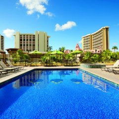 Отель Waikiki Beachcomber by Outrigger бассейн фото 2