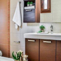 Отель Villa Nefeli, Pefkochori Греция, Пефкохори - отзывы, цены и фото номеров - забронировать отель Villa Nefeli, Pefkochori онлайн ванная