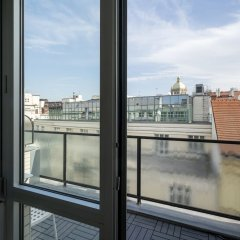 Апартаменты Premier Apartment Wenceslas Square II. Прага балкон