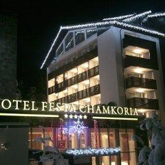 Отель Festa Chamkoria Болгария, Боровец - отзывы, цены и фото номеров - забронировать отель Festa Chamkoria онлайн вид на фасад