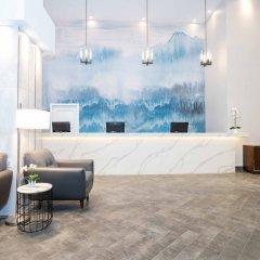 Отель Sandman Hotel Calgary City Centre Канада, Калгари - отзывы, цены и фото номеров - забронировать отель Sandman Hotel Calgary City Centre онлайн интерьер отеля фото 3