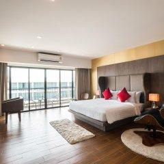 J Inspired Hotel Pattaya комната для гостей
