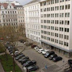 Отель Schweizer Pension Solderer парковка