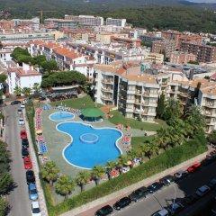 Отель Apartamentos ALEGRIA Bolero Park Испания, Льорет-де-Мар - 2 отзыва об отеле, цены и фото номеров - забронировать отель Apartamentos ALEGRIA Bolero Park онлайн пляж