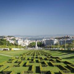Отель Real Palacio Португалия, Лиссабон - 13 отзывов об отеле, цены и фото номеров - забронировать отель Real Palacio онлайн приотельная территория фото 2