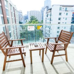 Отель Lohas Residences Sukhumvit Бангкок балкон