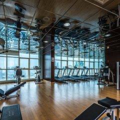 Отель First Central Hotel Suites ОАЭ, Дубай - 11 отзывов об отеле, цены и фото номеров - забронировать отель First Central Hotel Suites онлайн фитнесс-зал фото 3