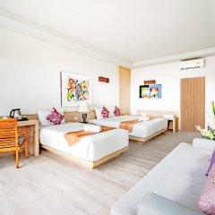 Отель Villa Cha-Cha Krabi Beachfront Resort Таиланд, Краби - отзывы, цены и фото номеров - забронировать отель Villa Cha-Cha Krabi Beachfront Resort онлайн комната для гостей фото 4