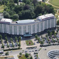 Отель Crowne Plaza Brussels Airport балкон